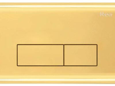 Clapeta/Buton de actionare H Light Gold