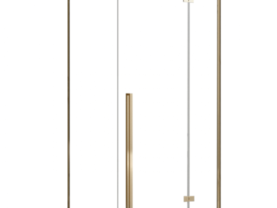 Cabina dus Fargo gold – 80×100 cm