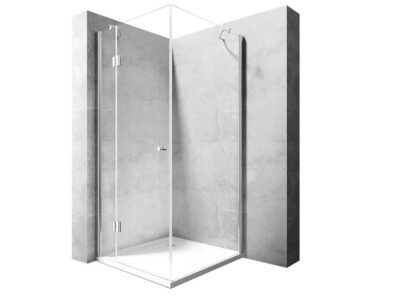 Cabina dus Madox silver – 90×90 cm