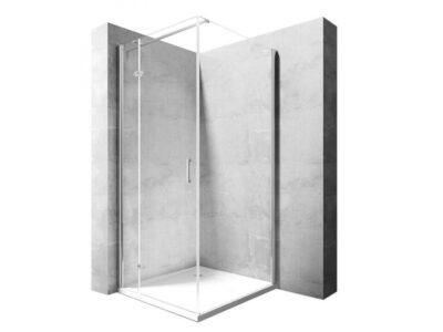 Cabina dus Morgan silver – 90×90 cm