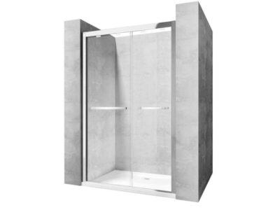 Usa pentru dus Move sticla securizata crom – 120×190 cm